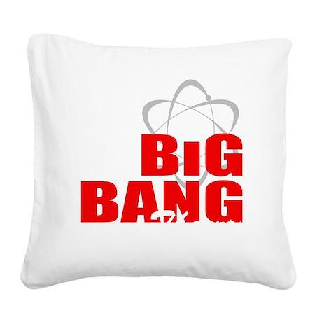 Big Bang theory Square Canvas Pillow