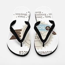 CozyCrop House 2012 Flip Flops