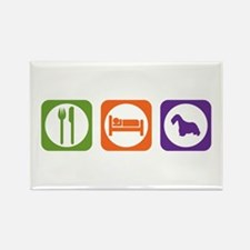 Eat Sleep Cesky Rectangle Magnet (100 pack)