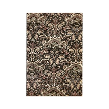 Haunted Victorian Wallpaper Rectangle Magnet