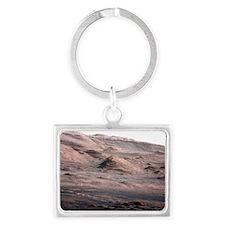 Mount Sharp, Mars Landscape Keychain