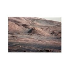 Mount Sharp, Mars Rectangle Magnet