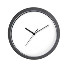 One and Three dk Wall Clock