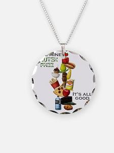 Make Mine Gluten Free - It's Necklace