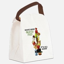 Make Mine Gluten Free - It's All  Canvas Lunch Bag