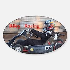 Riley Racing Sticker (Oval)