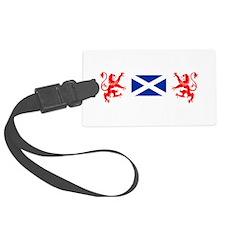 Glasgow Sco White for dark Luggage Tag