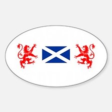Glasgow Sco White for dark Decal