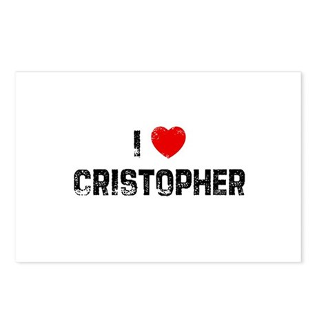 I * Cristopher Postcards (Package of 8)