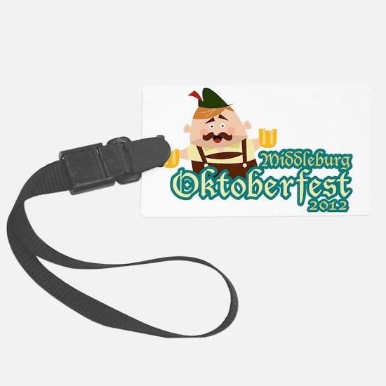 Middleburg Oktoberfest 2012 Luggage Tag