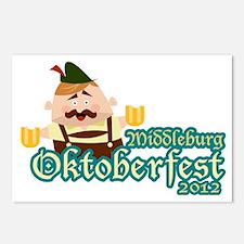 Middleburg Oktoberfest 20 Postcards (Package of 8)