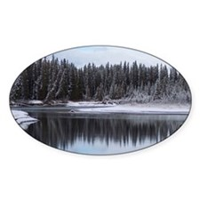 Forest and River Reflection Decal