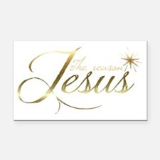 Jesus is the reason for the s Rectangle Car Magnet