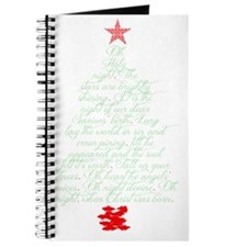 Oh holy night tree Journal