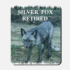 Silver Fox Retired Mousepad