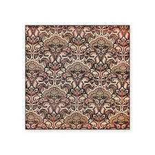 """Haunted Victorian Wallpaper Square Sticker 3"""" x 3"""""""