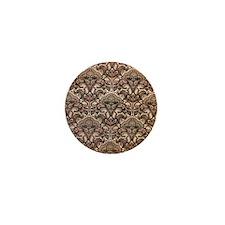 Haunted Victorian Wallpaper Mini Button