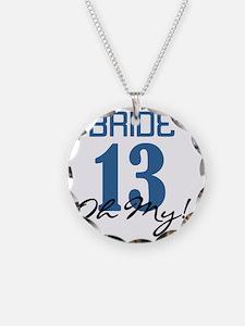 Bride 12 Oh My Blue Necklace