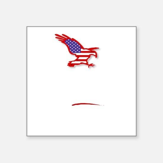 "Romney-Ryan America First d Square Sticker 3"" x 3"""