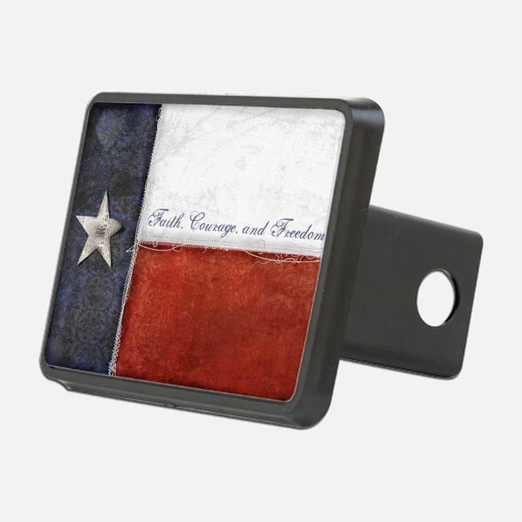 Texas Flag Hitch Cover