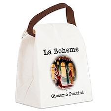 OPERA - LA BOHEME - GIOCOMO PUCCI Canvas Lunch Bag