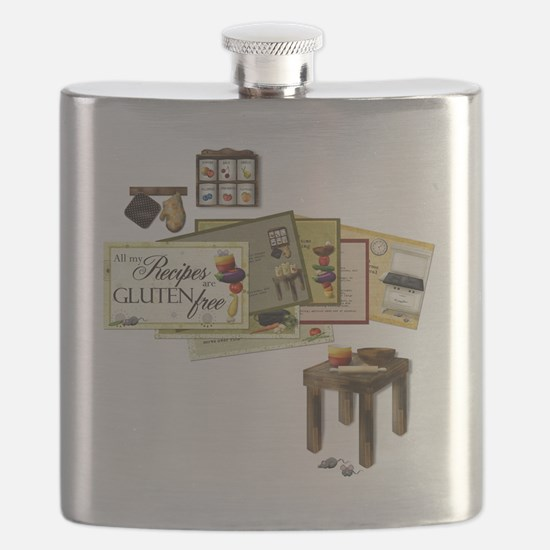 All My Recipes are Gluten Free Flask