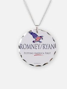 Romney-Ryan America First Necklace