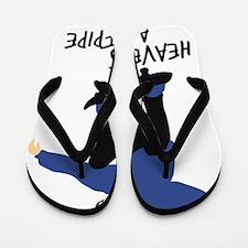 skateboard jump skater Flip Flops