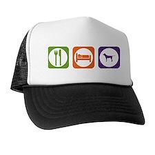 Eat Sleep Coonhound Trucker Hat