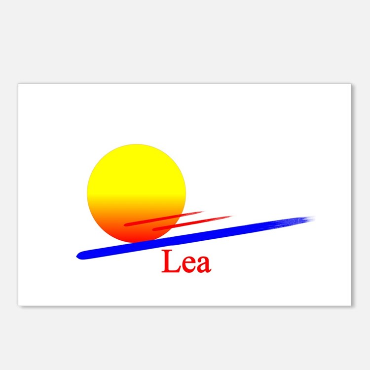Lea Postcards (Package of 8)