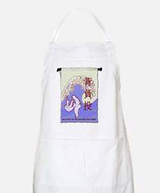 Scroll with Seoi Nage and Great Wave Apron