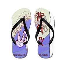 Scroll with Seoi Nage and Great Wave Flip Flops