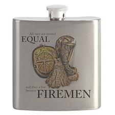 A Few Become Firemen Flask
