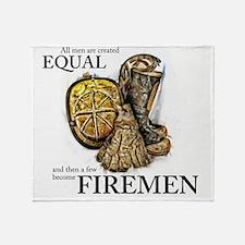 A Few Become Firemen Throw Blanket