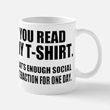 Social Interaction Mug