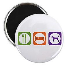 Eat Sleep Foxhound Magnet