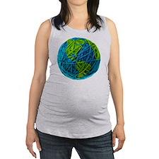 Global Ball of Yarn Maternity Tank Top