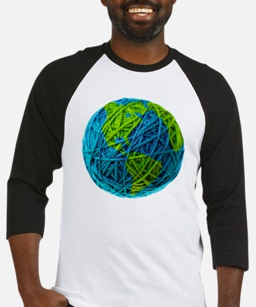 Global Ball of Yarn Baseball Jersey