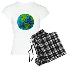 Global Ball of Yarn Pajamas