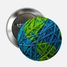 "Global Ball of Yarn 2.25"" Button"