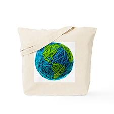 Global Ball of Yarn Tote Bag