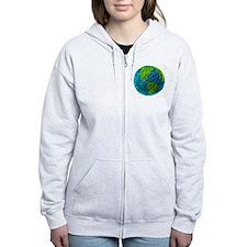 Global Ball of Yarn Zipped Hoody