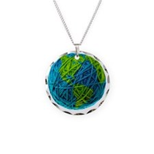 Global Ball of Yarn Necklace
