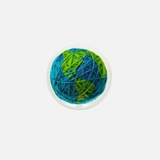 Global Ball of Yarn Mini Button
