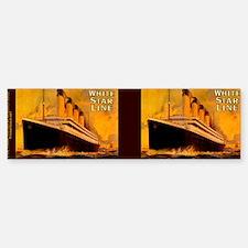 TitanicGoldTeaport Bumper Bumper Sticker