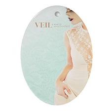 Veil Kindle #2 Oval Ornament