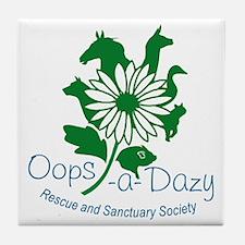 Oops-a-Dazy Logo Tile Coaster