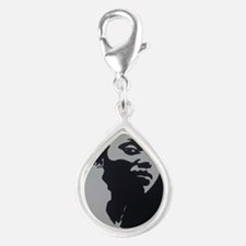MOTHER AFRICA Silver Teardrop Charm