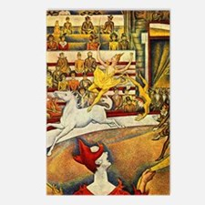 Georges Seurat Circus Postcards (Package of 8)