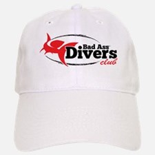 Bad Ass Divers Club Baseball Baseball Cap